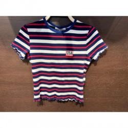 Camiseta Rayas  Chica